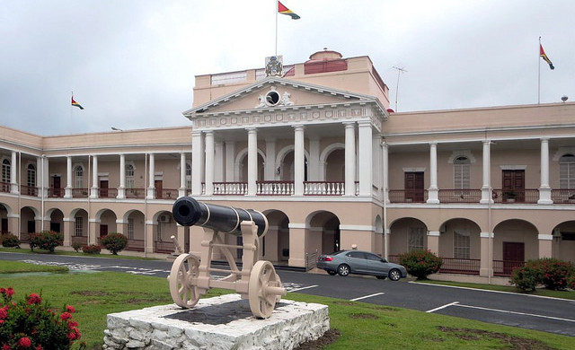 Parliament Building, Georgetown, Guyana - Photo: David Stanley via Flickr, used under Creative Commons License (By 2.0)