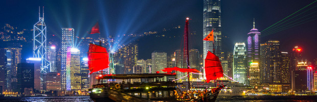 Symphony of Light, Hong Kong - Photo: Prachanart Viriyaraks via Flickr, used under Creative Commons License (By 2.0)