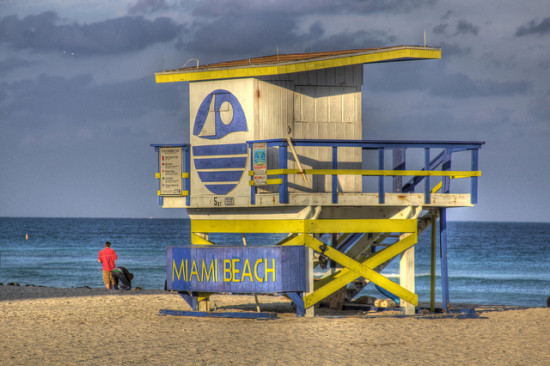 South Beach, Miami, Florida - Photo: Nathan Forget via Flickr, used under Creative Commons License (By 2.0)