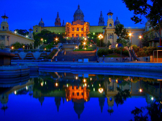Palau Nacional, Montjuïc, Barcelona - Photo: runner310 via Flickr, used under Creative Commons License (By 2.0)