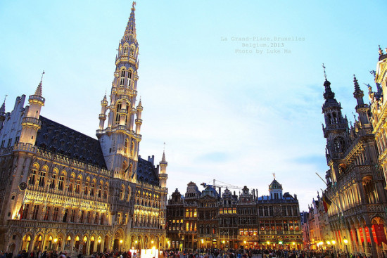 Brussels, Belgium - Photo: Luke Ma via Flickr, used under Creative Commons License (By 2.0)