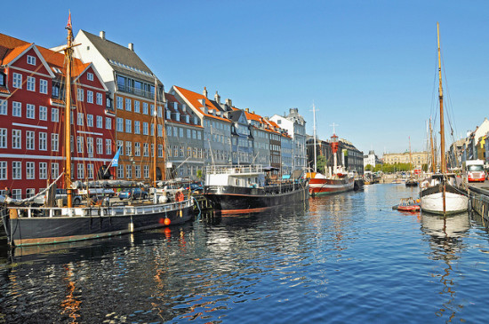 Copenhagen, Denmark - Photo: Dennis Jarvis via Flickr, used under Creative Commons License (By 2.0)