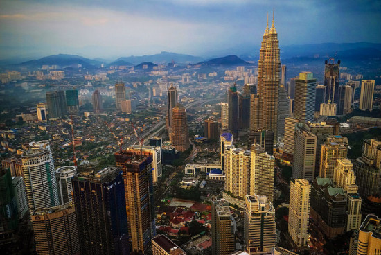 Skyline, Kuala Lumpur, Malaysia - Photo: Luke Ma via Flickr, used under Creative Commons License (By 2.0)