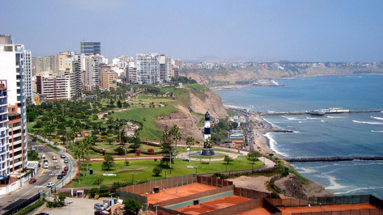 Lima, Peru - Photo: Neo-Kat via Flickr, used under Creative Commons License (By 2.0)