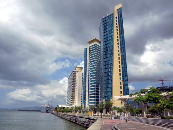 Waterfront, Port of Spain, Trinidad and Tobago - Photo: David Stanley via Flickr, used under Creative Commons License (By 2.0)