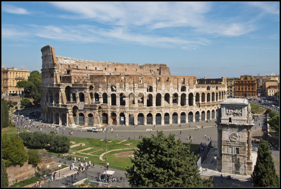 Coliseum, Rome, Italy - Photo: Bert Kaufmann via Flickr, used under Creative Commons License (By 2.0)