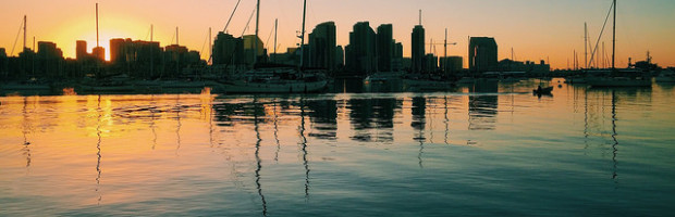 Waterfront, San Diego, California - Photo: Loren Kerns via Flickr, used under Creative Commons License (By 2.0)