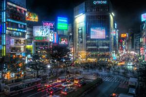 Shibuya, Tokyo, Japan - Photo: Guwashi999 via Flickr, used under Creative Commons License (By 2.0)