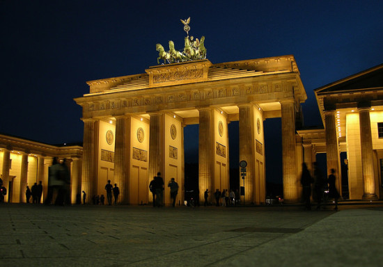 Brandenburg Gate, Berlin, Germany - Photo: James J8245 via Flickr, used under Creative Commons License (By 2.0)