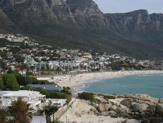 Camp's Bay Beach, Cape Town, South Africa - Photo: Nick Gray via Flickr, used under Creative Commons License (By 2.0)