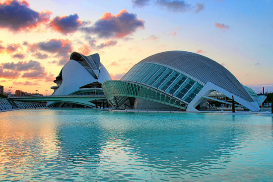 City of Arts and Sciences, Valencia, Spain - Photo: O Palsson via Flickr, used under Creative Commons License (By 2.0)