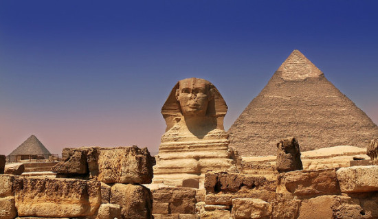The Great Pyramid of Giza + Sphinx, Cairo, Egypt - Photo: Sam valadi via Flickr, used under Creative Commons License (By 2.0)
