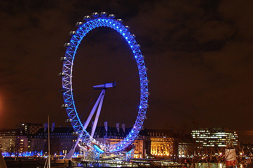 London Eye, London, England - Photo: Márcio Cabral de Moura via Flickr, used under Creative Commons License (By 2.0)