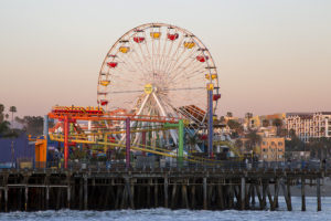Santa Monica Pier, Los Angeles, California - Photo: Michael Mayer via Flickr, used under Creative Commons License (By 2.0)