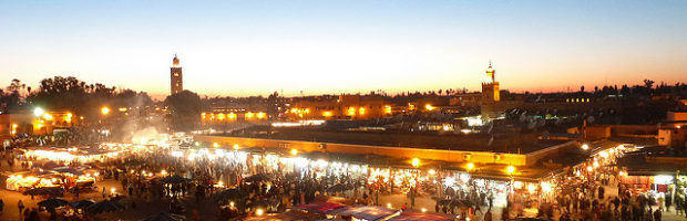 Jamaa el Fna, Marrakech, Morocco - Photo: YoTuT via Flickr, used under Creative Commons License (By 2.0)