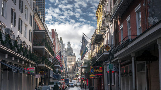 Bourbon Street, New Orleans, Louisiana - Photo: Eric Gross via Flickr, used under Creative Commons License (By 2.0)