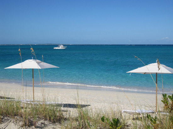 Beach at Grace Bay, Turks and Caicos - Photo: apasciuto via Flickr, used under Creative Commons License (By 2.0)