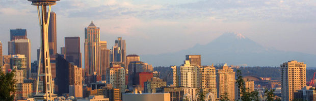 Seattle, Washington - Photo: Maëlick via Flickr, used under Creative Commons License (By 2.0)