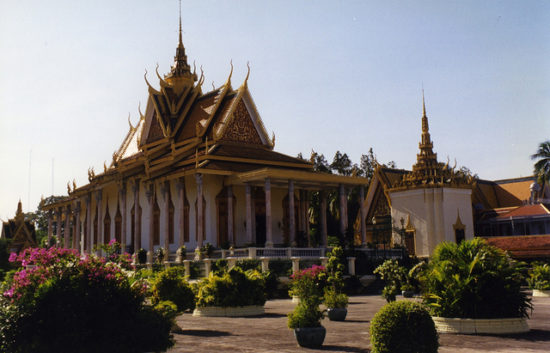 Silver Pagoda, Phnom Penh, Cambodia - Photo: Arian Zwegers via Flickr, used under Creative Commons License (By 2.0)