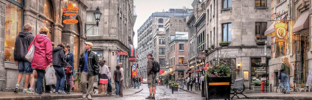 Montreal, Quebec - Photo: Pedro Szekely via Flickr, used under Creative Commons License (By 2.0)