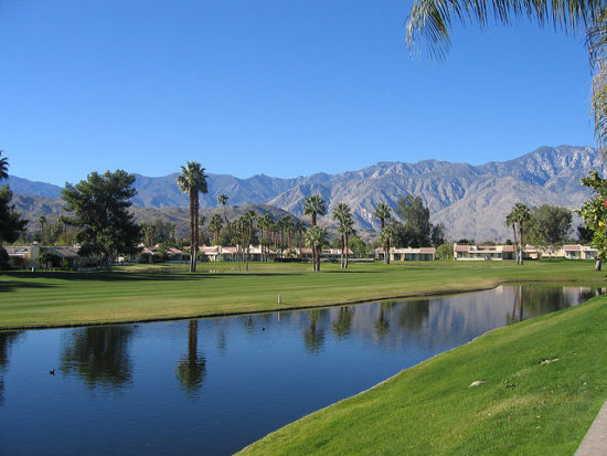 Palm Springs, California - Photo: Simon Helle Nielsen via Flickr, used under Creative Commons License (By 2.0)